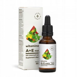 AURA HERBALS Witamina A + E Forte 30ml | krople