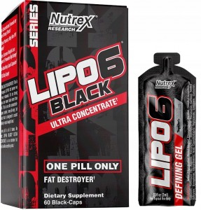 NUTREX LIPO 6 BLACK ULTRA CONCENTRATE 60k | USA