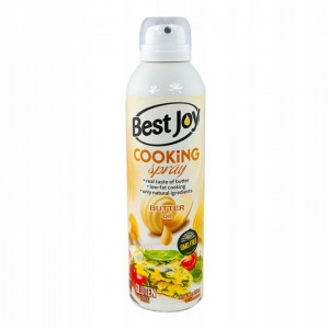 BEST JOY COOKING OLEJ MASŁO W SPRAYU 250ml 0 kcal