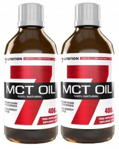 7NUTRITION MCT OIL 2x400ml | DIETA KETOGENICZNA