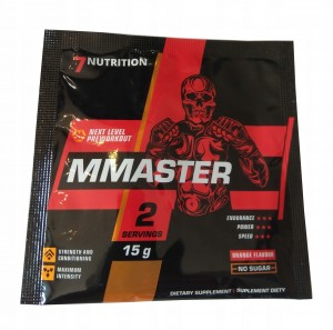 7NUTRITION MMASTER 15g PRE WORKOUT SPORTY WALKI