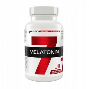 7NUTRITION MELATONINA 5mg 60k FORTE ZDROWY SEN