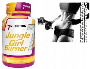 7 Nutrition Jungle Girl Burner 120 kaps | SPALACZ